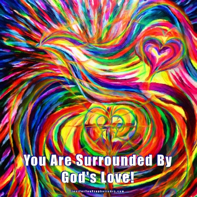 Holy Spirit Dove by Pam Herrick at Just For You Prophetic Art.